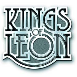 Kings of Leon Pin Badge: Scroll Logo