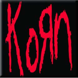 Korn Single Cork Coaster: Logo