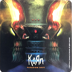 Korn Single Cork Coaster: Paradigm Shift