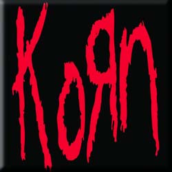 Korn Fridge Magnet: Logo