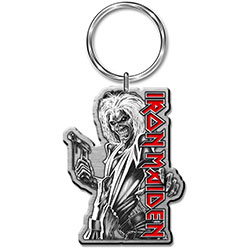 Iron Maiden Keychain: Killers (Enamel In-fill)