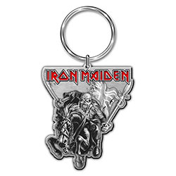 Iron Maiden Keychain: Maiden England (Enamel In-fill)