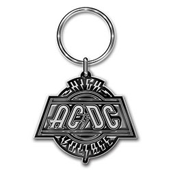 AC/DC Keychain: High Voltage (Die-cast Relief)