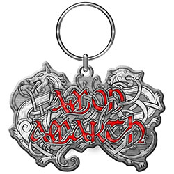 Amon Amarth Keychain: Dragon Logo (Die-cast Relief)