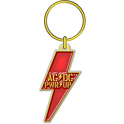 AC/DC Keychain: PWR-UP (Die-cast Relief)