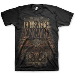 Killswitch Engage Unisex Tee: Army