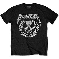 Killswitch Engage Unisex Tee: Skull Spraypaint