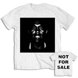 Kanye West Unisex Tee: Not For Sale (Back Print)