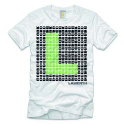 Labrinth Unisex Tee: Space Invaders