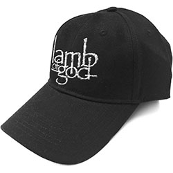 Lamb Of God Unisex Baseball Cap: Logo (Sonic Silver)