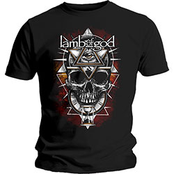 Lamb Of God Men's Tee: All Seeing Red