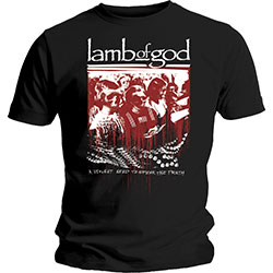 Lamb Of God Unisex Tee: Enough is Enough