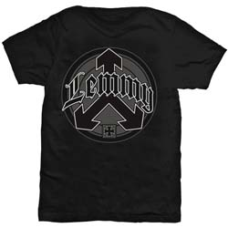 Lemmy Men's Tee: Arrow Logo