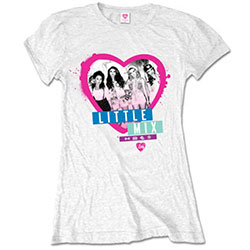 Little Mix Ladies Tee: Spray can