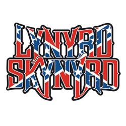 Lynyrd Skynyrd Greetings Card: Flag