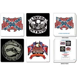 Lynyrd Skynyrd Coaster Set: Mixed