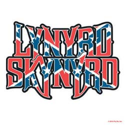 Lynyrd Skynyrd Single Cork Coaster: Flag