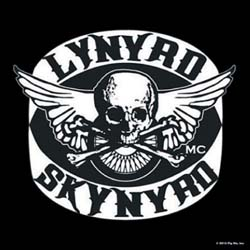 Lynyrd Skynyrd Single Cork Coaster: Biker Patch