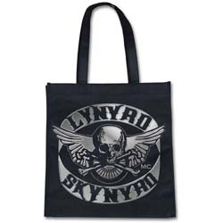 Lynyrd Skynyrd Eco Bag: Biker Patch (Trend Version)