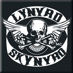 Lynyrd Skynyrd Fridge Magnet: Biker Patch Logo