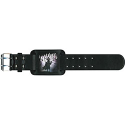 In Flames Leather Wrist Strap: The Mask