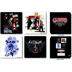 Lil Wayne Coaster Set: Mixed