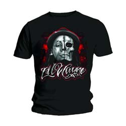 Lil Wayne Men's Tee: Skull Sketch