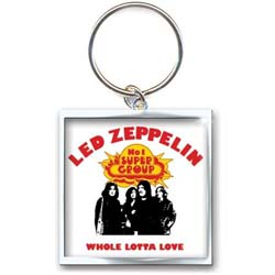 Led Zeppelin Keychain: Whole Lotta Love (Photo-print)
