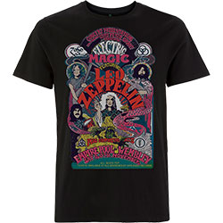 Led Zeppelin Unisex Tee: Full Colour Electric Magic
