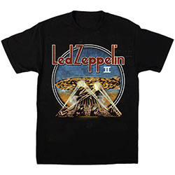 Led Zeppelin Unisex Tee: LZII Searchlights