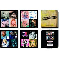 Madonna Coaster Set: Mixed