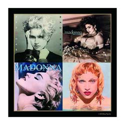 Madonna Single Cork Coaster: Albums