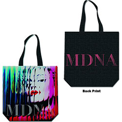 Madonna Cotton Tote Bag: MDNA