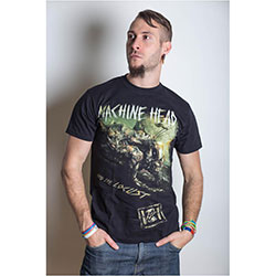 Machine Head Men's Tee: Scratch Diamond Cover with Back Printing