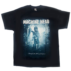 Machine Head Unisex Tee: Through The Ashes of Empires (Sleeve Print)