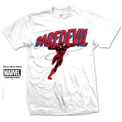 Marvel Comics Unisex Tee: Dare-Devil Logo