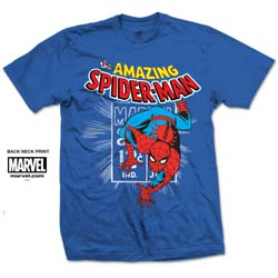 Marvel Comics Unisex Tee: Spidey Stamp