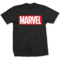 Marvel Comics Men's Tee: Box Logo