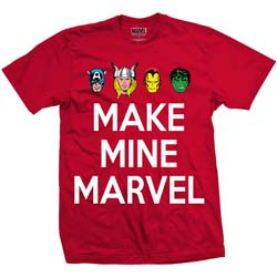 Marvel Comics Unisex Tee: Make Mine