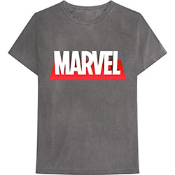 Marvel Comics Unisex Tee: Out The Box Logo