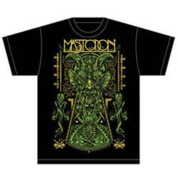 Mastodon Unisex Tee: Devil on Black