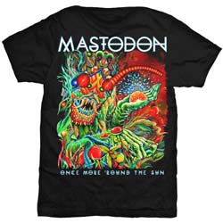 Mastodon Unisex Tee: Once More Round the Sun