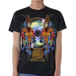 Mastodon Unisex Tee: Crack the Skye