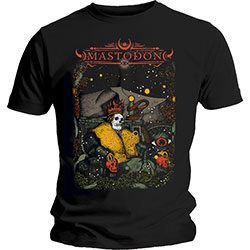 Mastodon Unisex Tee: Seated Sovereign