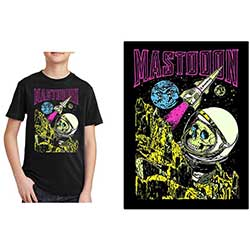 Mastodon Kids Tee: Space Colorization