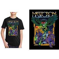 Mastodon Kids Tee: Space Owl