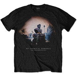 My Chemical Romance Unisex Tee: May Death Cover