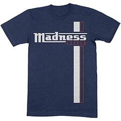 Madness Unisex Tee: Stripes