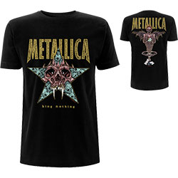Metallica Unisex Tee: King Nothing (Back Print)