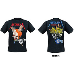 Metallica Unisex Tee: Damage Inc (Back Print)